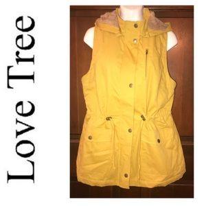 Love Tree Hoodie Vest